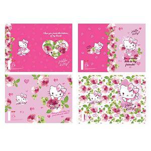 Bilježnica A4/52L crte Hello Kitty Loves U Target sortirano
