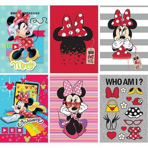 Bilježnica A4/B Disney Minnie 42L čista