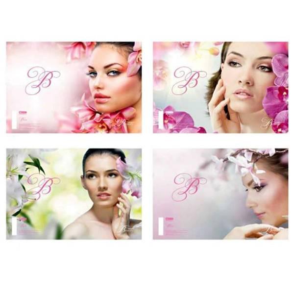 Bilježnica A4/čista/50 listova Beauty 16545 Target