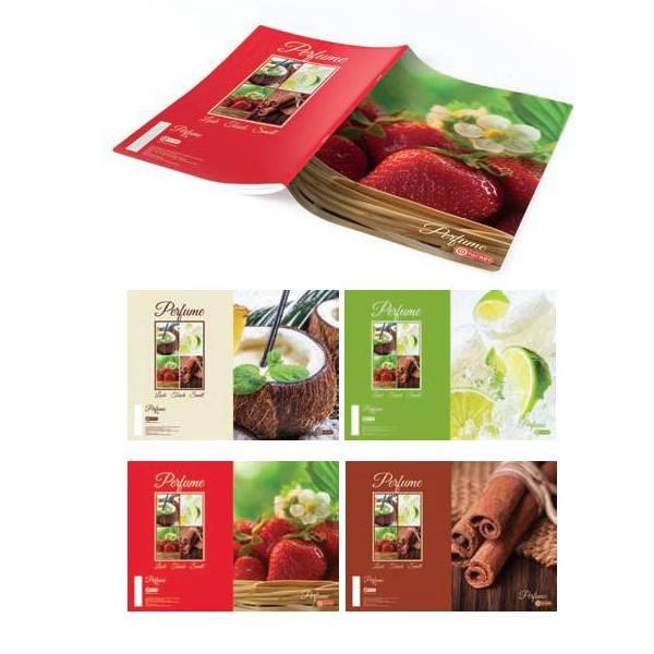 Bilježnica A4/crte/50 listova Parfume 16538 Target