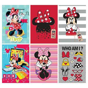 Bilježnica A4/D Disney Minnie 42L crte