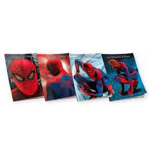 Bilježnica A5 52L crte Spiderman 11584 Target sortirano