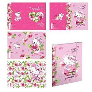 Bilježnica A5 52L karo Hello Kitty 18038 Target sortirano