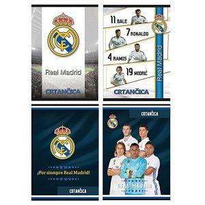 Bilježnica Crtančica SPORT GOLD LINE Real Madrid