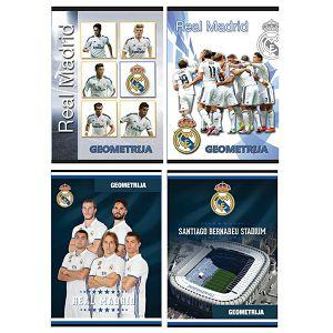Bilježnica Geometrijska SPORT GOLD LINE Real Madrid