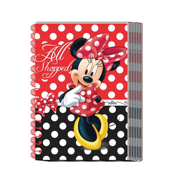 Bilježnica spiralna 60l Disney Minnie A6/D