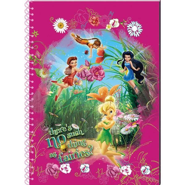 Bilježnica spiralna A6/B Disney Fairies P10
