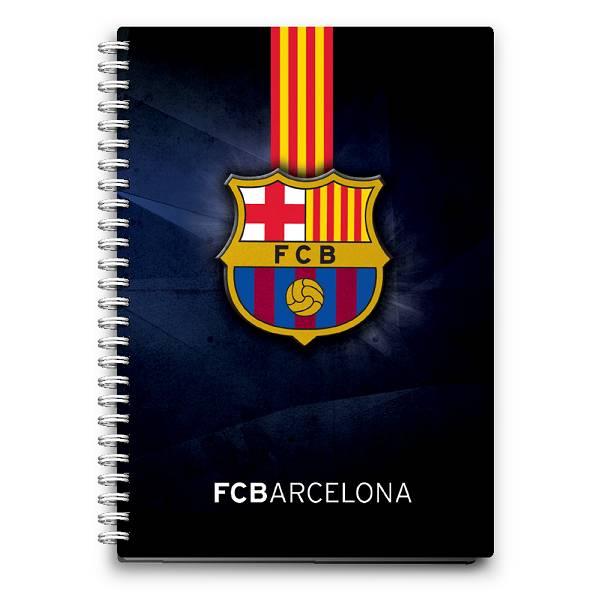 Bilježnica spiralna PP A6/D 80 listova Barcelona P10/80