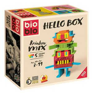 BIOBLO SLAGALICE Hello box Piatnik 100 pločica 640255 3+