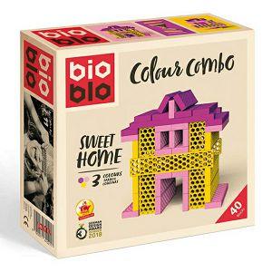 BIOBLO Kokce Sweet home Piatnik 40 pločica 640279 3+ 640279