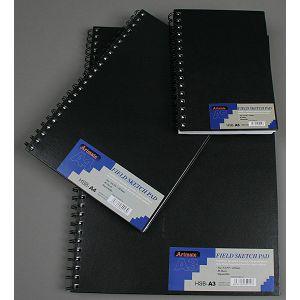 BLOK ZA SKICIRANJE A5 80L/papir field 96gr, spirala Artmate 600147