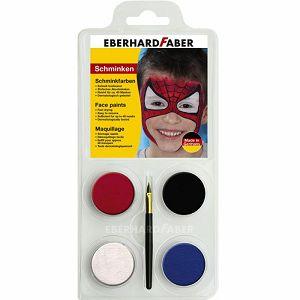 BOJA ZA LICE Spiderman set + kist Eberhard Faber 4/1 790154