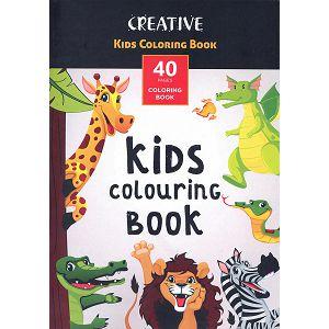 Bojanka Creative Animal dječja, 40str, 21x30cm, 75100