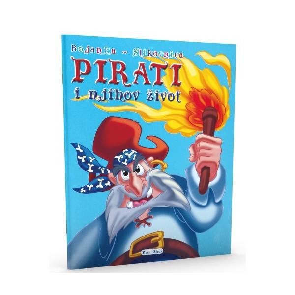 Bojanka - slikovnica - Pirati i njihov život