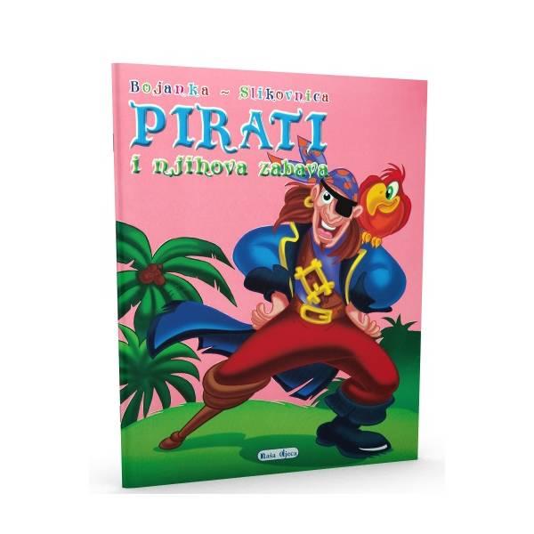 Bojanka - slikovnica - Pirati i njihova zabava