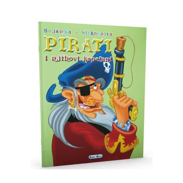 Bojanka - slikovnica - Pirati i njihovi kapetani