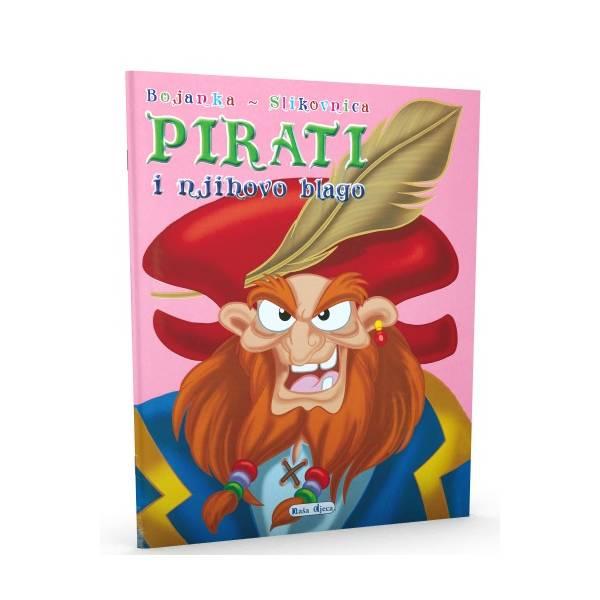 Bojanka - slikovnica - Pirati i njihovo blago