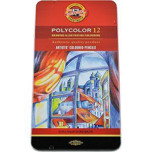 BOJICE drvene slikarske KOH-I-NOOR Polycolor 12/1 074809