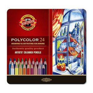 BOJICE drvene slikarske KOH-I-NOOR Polycolor 24/1 074816