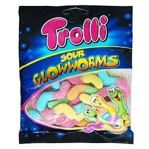 BOMBONI Trolly 100gr Glowworms