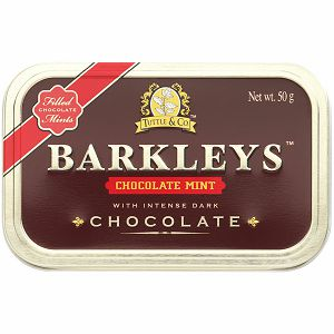 Bomboni tvrdi Barkleys Chocolate mint 1/50g