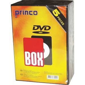 Box DVD jednostruki Jewel Princo prozirni 5/1