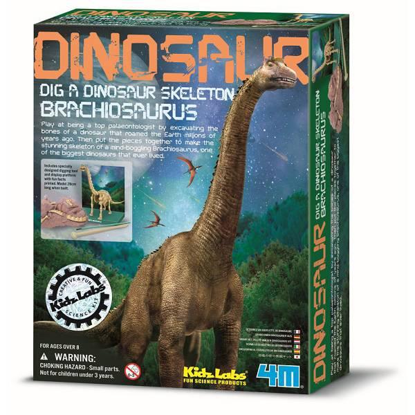 Braciosaur dinosaur 28cm 4M