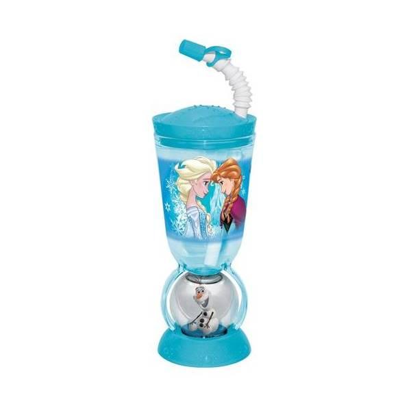 Čaša sa slamkom i figuricom Olaf Frozen 2