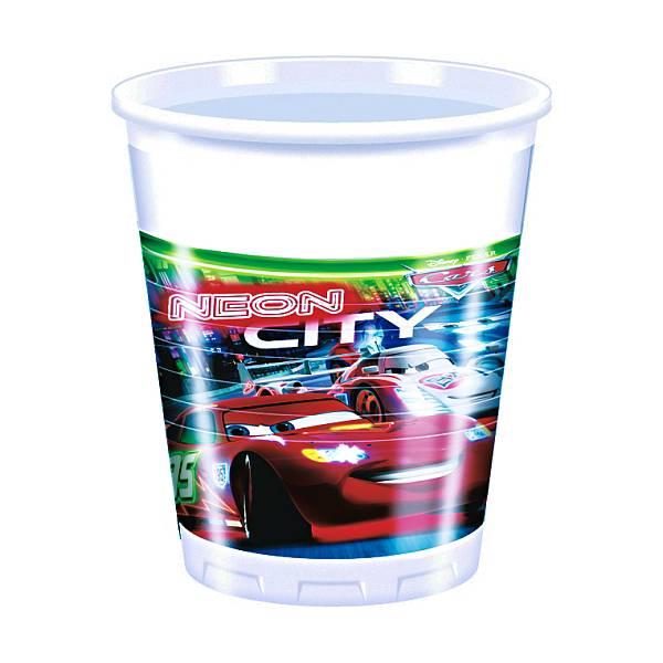 Čaše Cars 8/1 0,2L