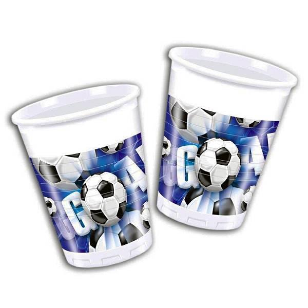 Čaše Football 10/1 0,2L