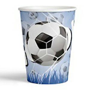 Čaše Football 200ml 10/1 181773