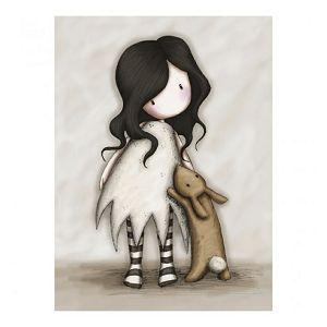 Čestitka I Love You Little Rabbit Gorjuss Eclectic ES69