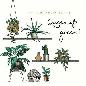 """ČESTITKA SOHO Alice Scott """"Queen of Green!"""""""