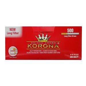 Cigaretni papir s dugim filterom KORONA 500/1