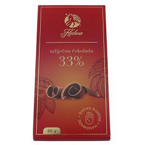 ČOKOLADA HEDONA Mliječna čokolada 80g 777913