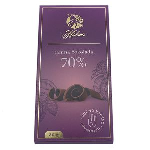 ČOKOLADA HEDONA Tamna čokolada 80g 777739