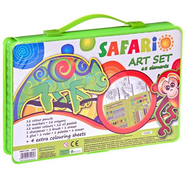 Crtaći set dječji Starpak Safari