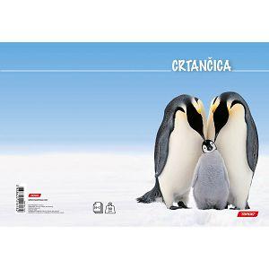 Crtančica za 1razred Target Pingvini