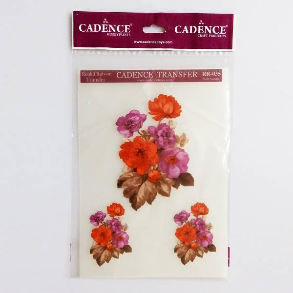 Cvjetni motiv Hobby Transfer Papir 17 x 25cm Cadence