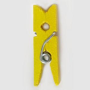 Dekorativni oblici Kvačica drvena ukrasna žuta