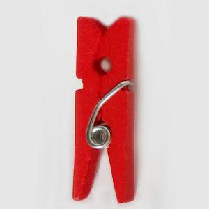 Dekorativni oblici Kvačica drvena ukrasna crvena