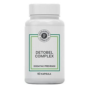 DETOBEL COMPLEX dodatak prehrani 60 kapsula 650473