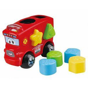 Didaktička igra, umetaljka - Vatrogasno vozilo PlayGo