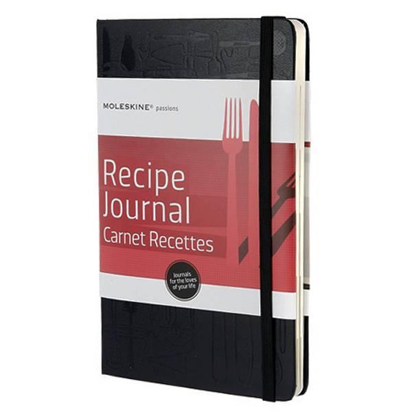 Dnevnik Recepti Moleskine crni 13x21cm/240 listova