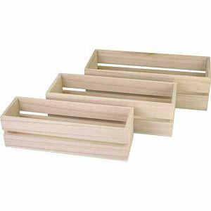 Drvena kutija 25 cm