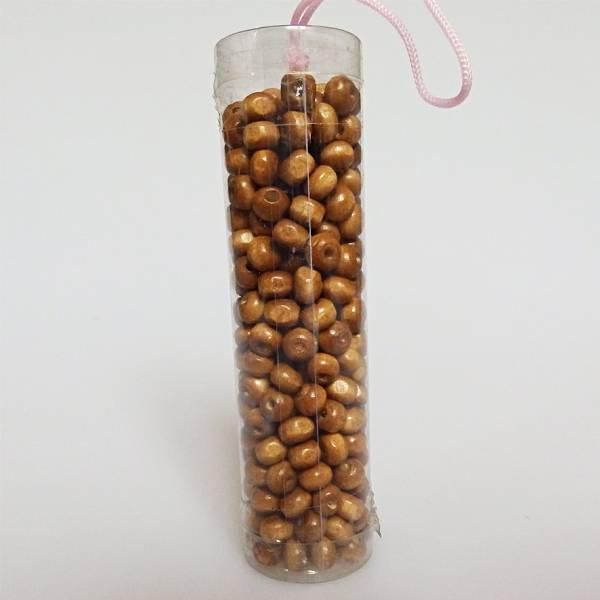 Drvena perla smeđa 0,5,cm