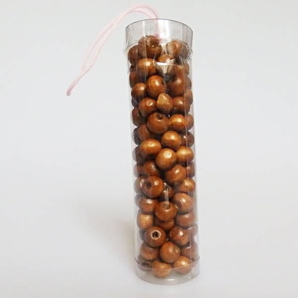 Drvena perla smeđa 0,8cm