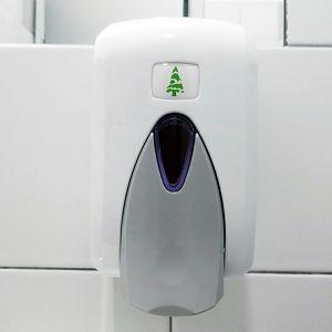 Držač pjenastog sapuna za nadoljevanje 500ml bijeli F5