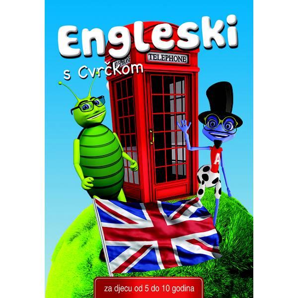 Interaktivni CD Engleski s Cvrčkom 5-10 godina