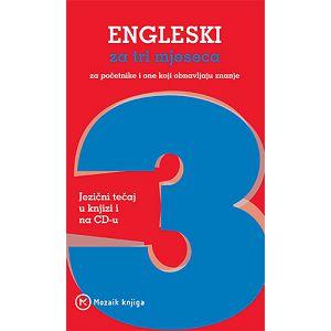 Engleski za tri mjeseca + 4 CD-a